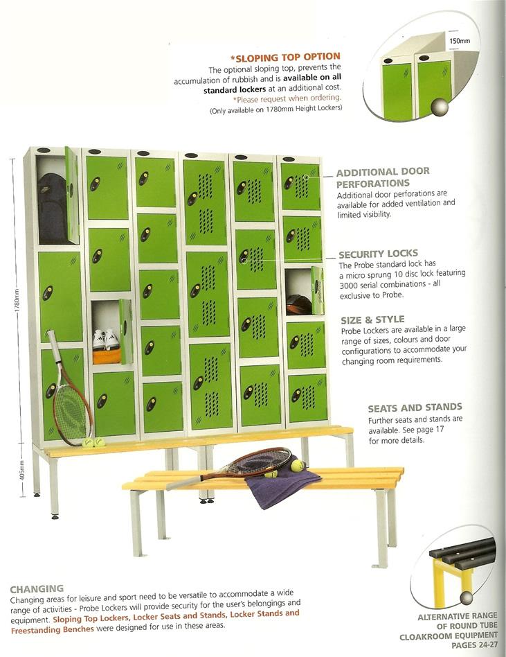 Lockers ireland school gym locker